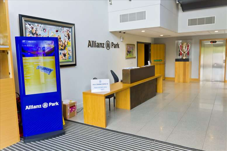 Image of Offices available in Hendon: Allianz Park, Greenlands Lane, Hendon, London
