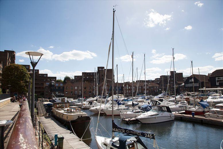 1 Thomas More Square, St Katharine Dock, East London Office Space Wapping