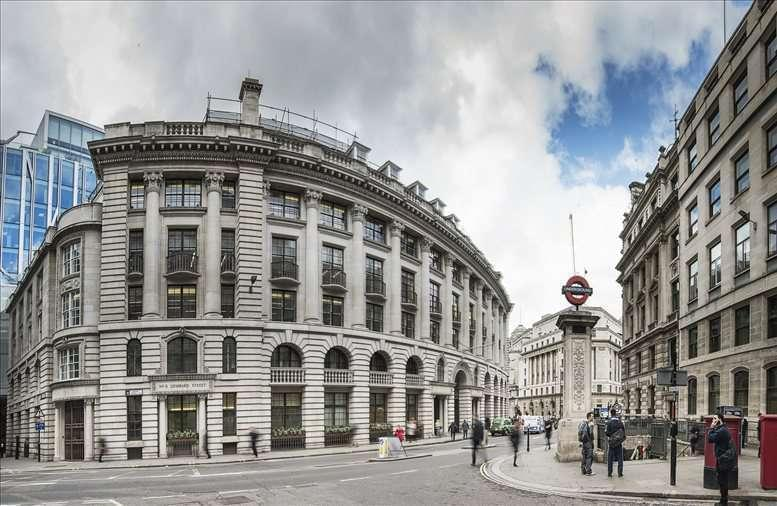 4 Lombard Street, City of London Office Space Bank