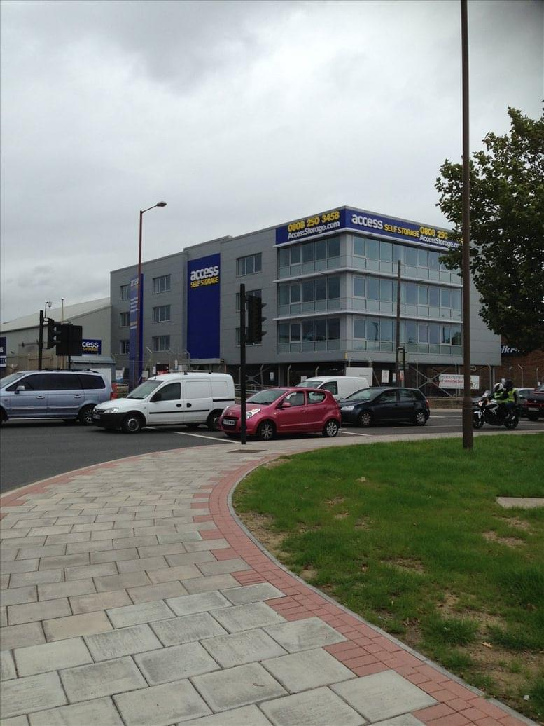 Meridian Trading Estate, 20 Bugsby's Way, Charlton, Greenwich Peninsula Office Space Woolwich