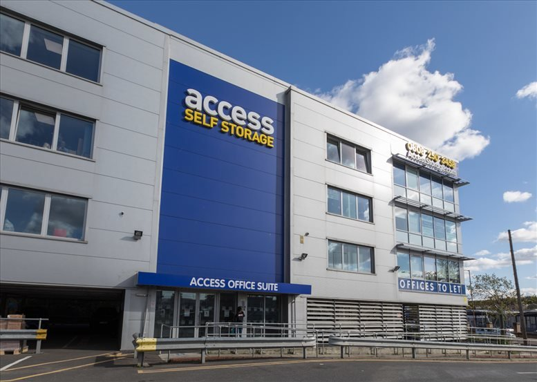 Rent Woolwich Office Space on Meridian Trading Estate, 20 Bugsby's Way, Charlton, Greenwich Peninsula