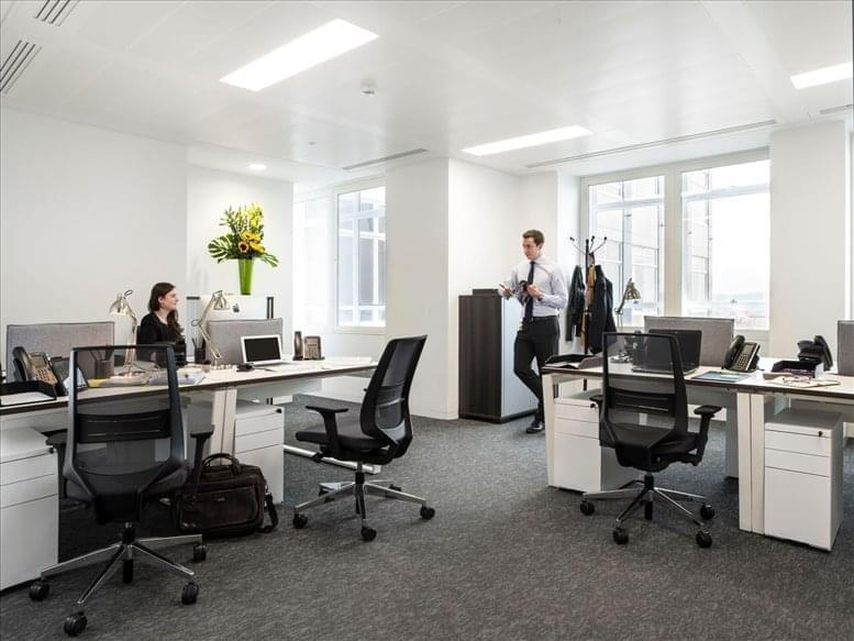Oxford Circus Office Space for Rent on 33 Cavendish Square, 13th Fl, Marylebone