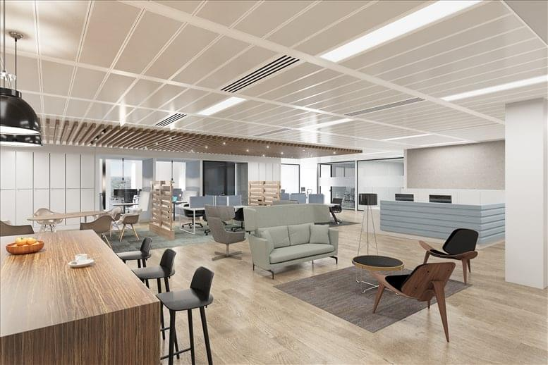 The City Office Space for Rent on 63 St Mary Axe