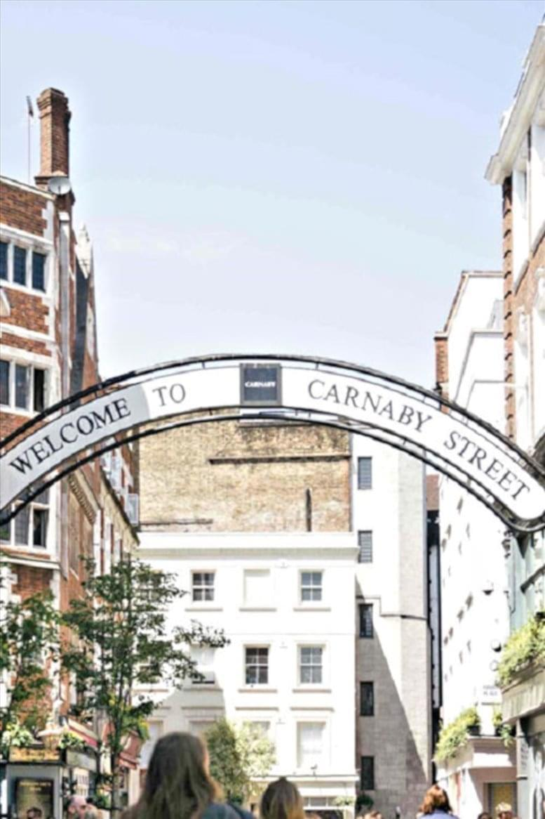 Picture of 21 Carnaby Street, Soho Office Space for available in West End