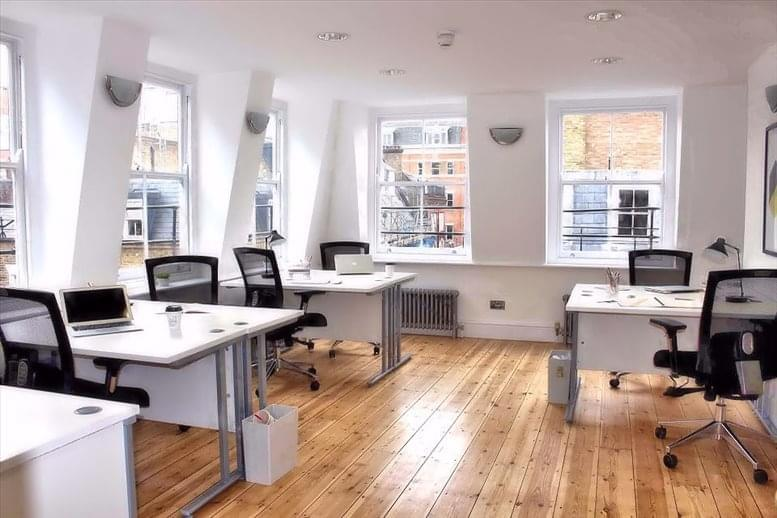 Office for Rent on 21 Carnaby Street Soho