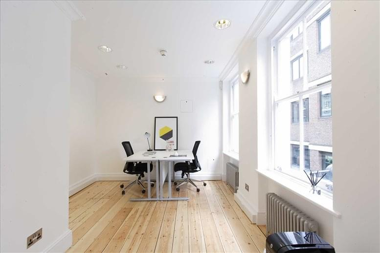 West End Office Space for Rent on 21 Carnaby Street, Soho