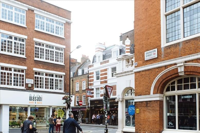 Picture of Soho - Sheraton House, 16 Great Chapel Street Office Space for available in Soho