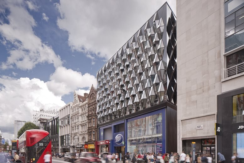 Rent Oxford Circus Office Space on 6 Ramilies Street, Soho