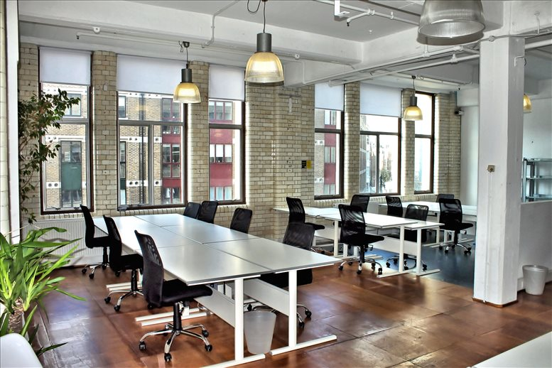 Rent Shoreditch Office Space on 116 Commercial Street, Spitalfields