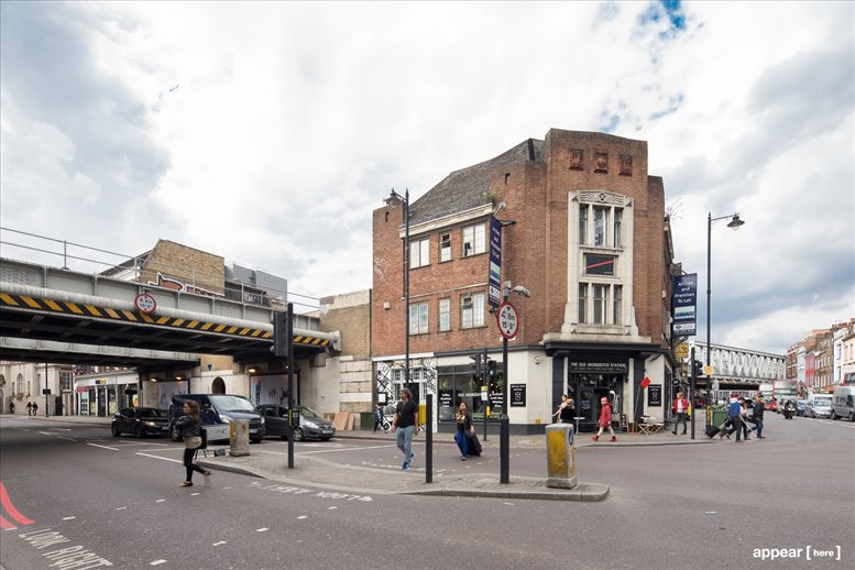 Shoreditch Office Space for Rent on 1 Kingsland Road, Shoreditch