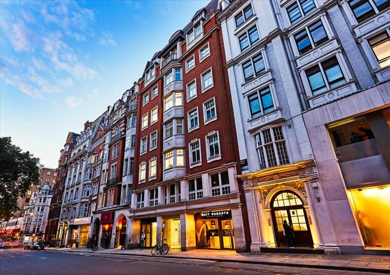 Rent Mayfair Office Space on 16 Berkeley Street