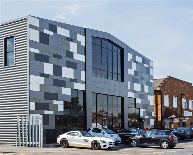 The Pixel Building, 110 Brooker Road, Waltham Abbey Office Space Loughton