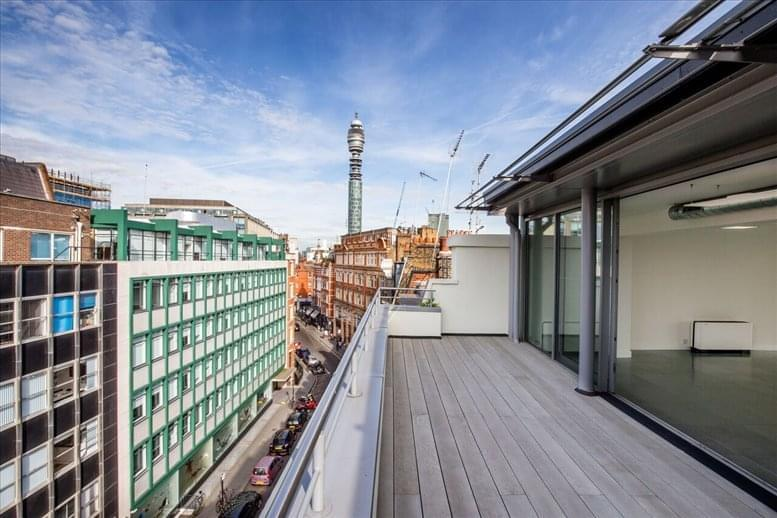 Fitzrovia Office Space for Rent on 30 Newman Street, West London