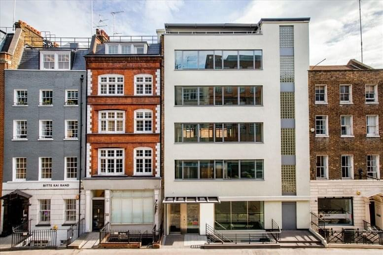 Rent Fitzrovia Office Space on 30 Newman Street, West London