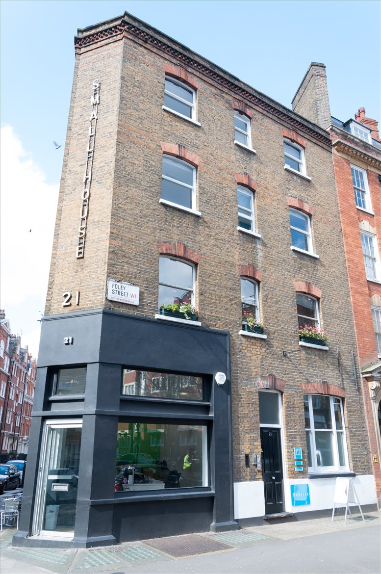 Office for Rent on 21 Foley Street, West End Fitzrovia