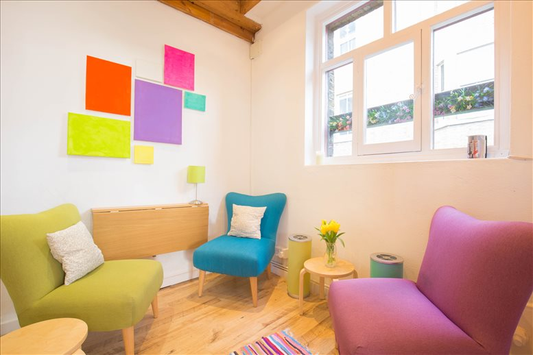 Holborn Office Space for Rent on Artist House, 35 Little Russell Street