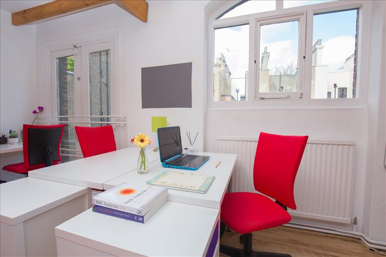 Rent Holborn Office Space on Artist House, 35 Little Russell Street