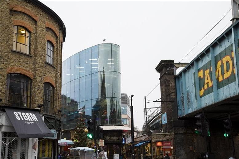 Camden Triangle, Camden Lock Market, Chalk Farm Road Office Space Camden Town