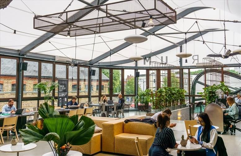 London Atrium, North Stables Market, Camden Town available for companies in Primrose Hill