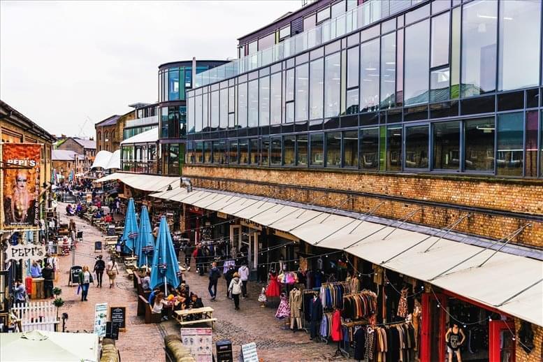 Rent Camden Town Office Space on Atrium Camden, 407 Chalk Farm Road