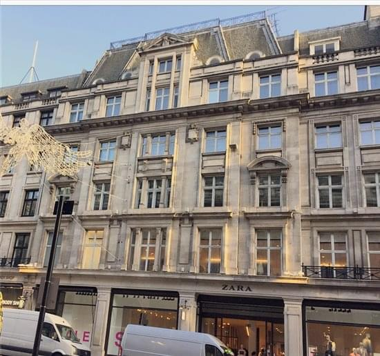 120 Regent Street available for companies in Regent Street