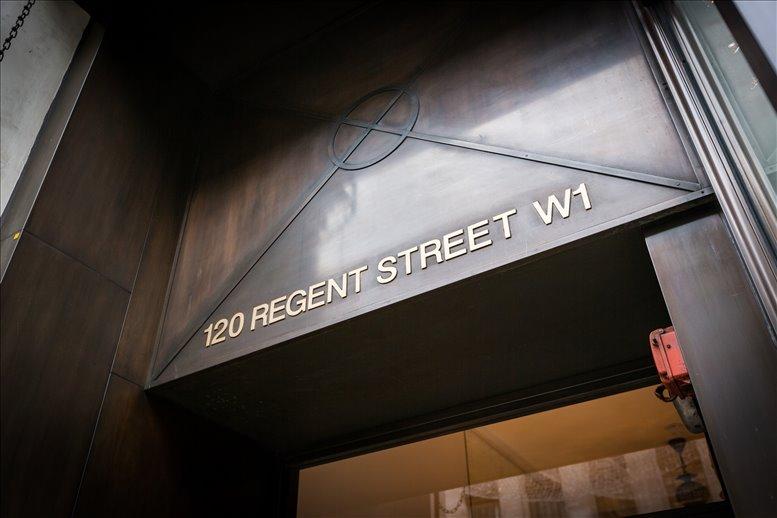 Rent Regent Street Office Space on 120 Regent Street