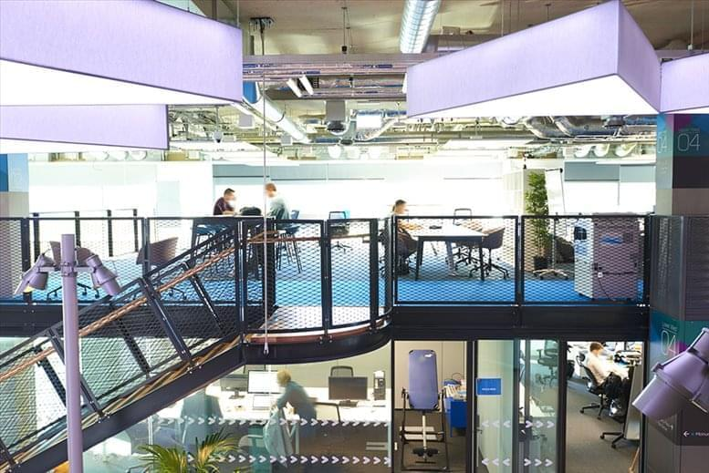 Image of Offices available in Stratford: 14 East Bay Lane, The Press Centre, Here East, Queen Elizabeth Olympic Park