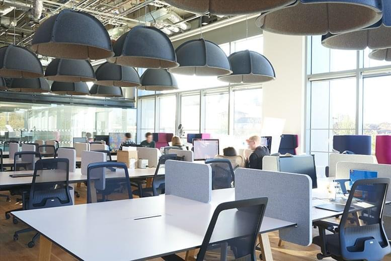 Stratford Office Space for Rent on 14 East Bay Lane, The Press Centre, Here East, Queen Elizabeth Olympic Park