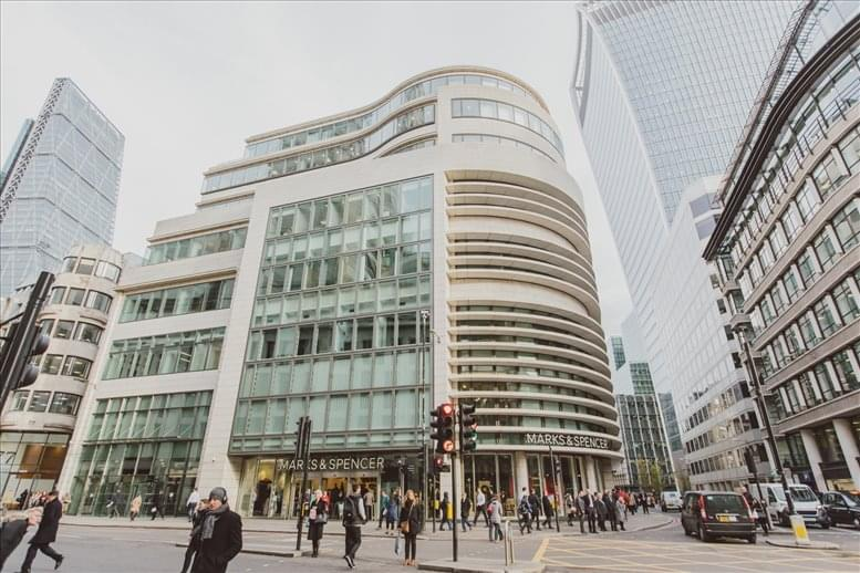 Photo of Office Space on 70 Gracechurch Street, City of London Fenchurch Street