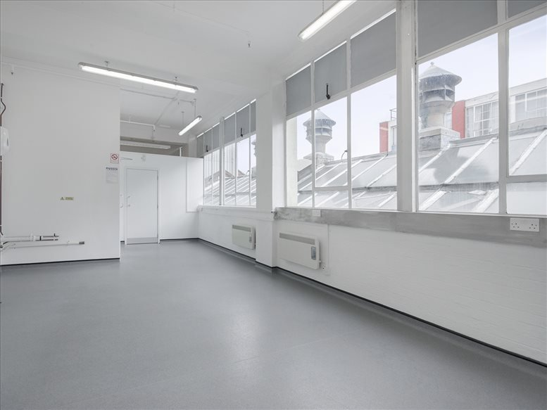 Image of Offices available in Earlsfield: Riverside Business Centre, Haldane Place, Wandsworth