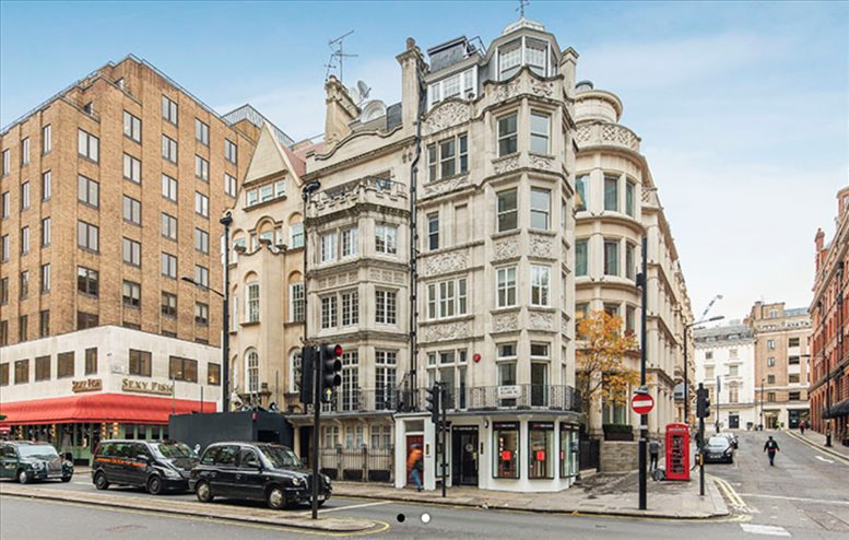 Mayfair Office Space for Rent on 1 Berkeley Square