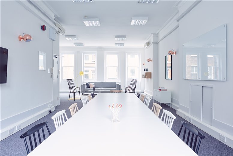 25 Newman Street, Central London Office Space Fitzrovia
