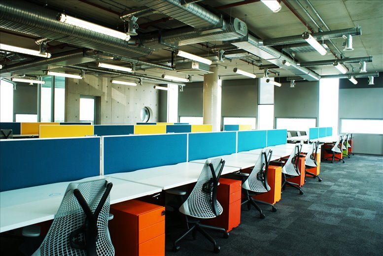 The White Collar Factory, 1 Old Street Yard, Silicon Roundabout Office for Rent Old Street