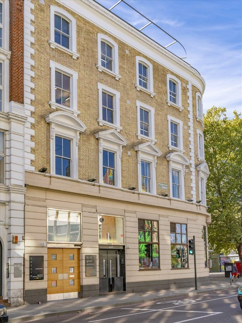 Office for Rent on 91-93 Great Eastern Street, Hackney Shoreditch