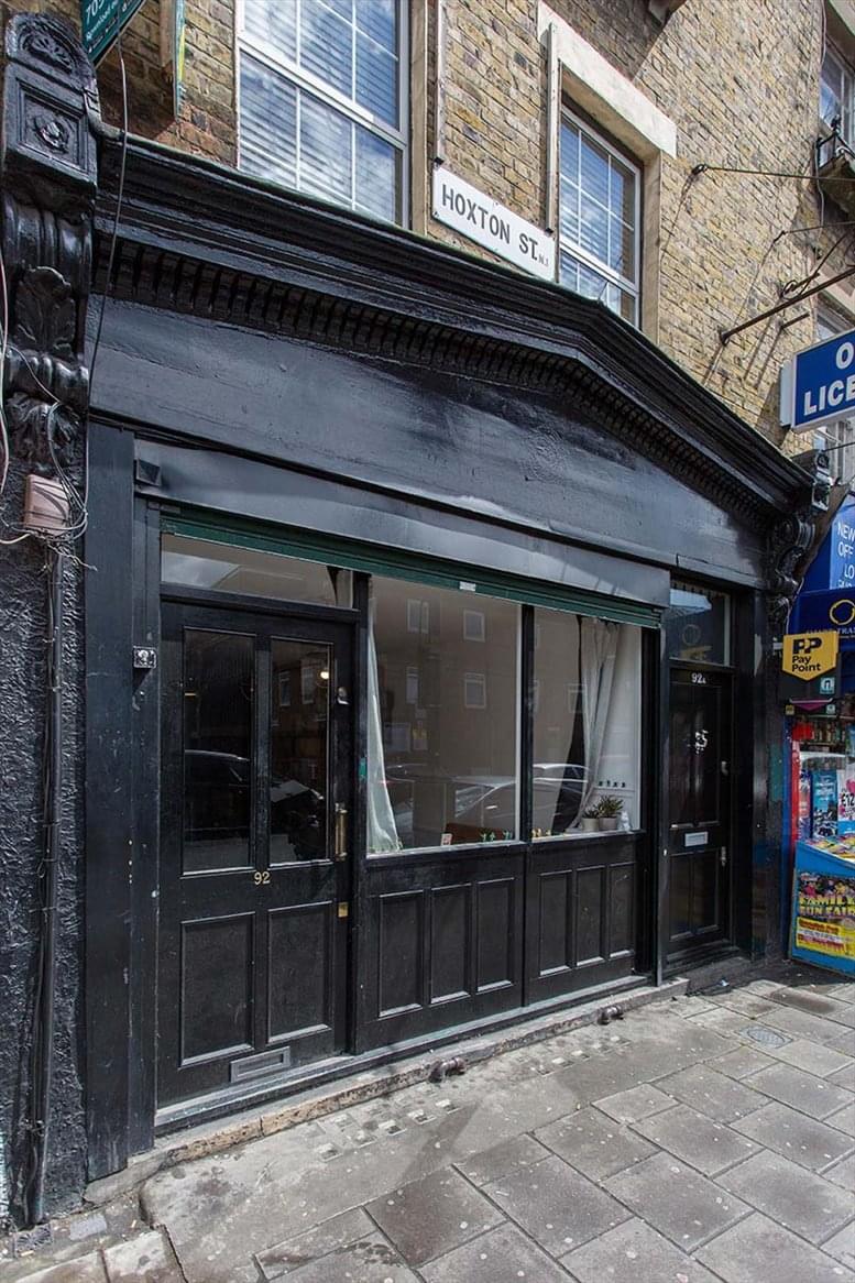 92 Hoxton Street Office Space Hoxton
