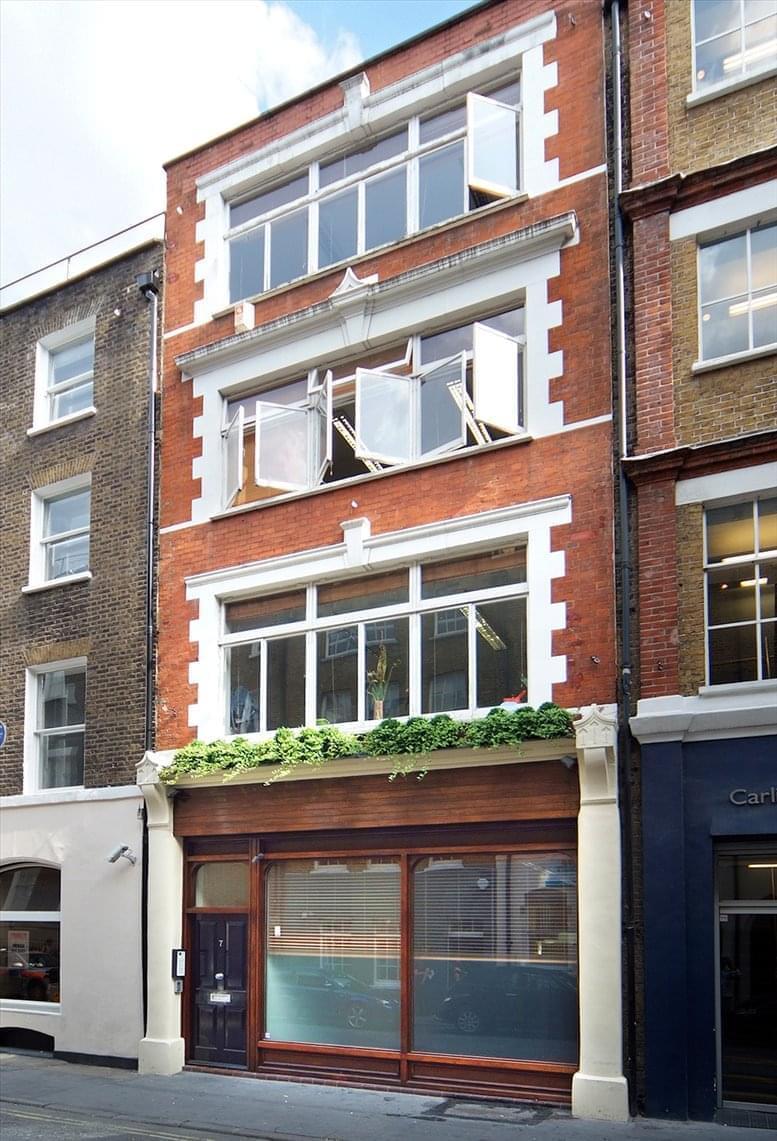 7 Carlisle Street available for companies in Soho