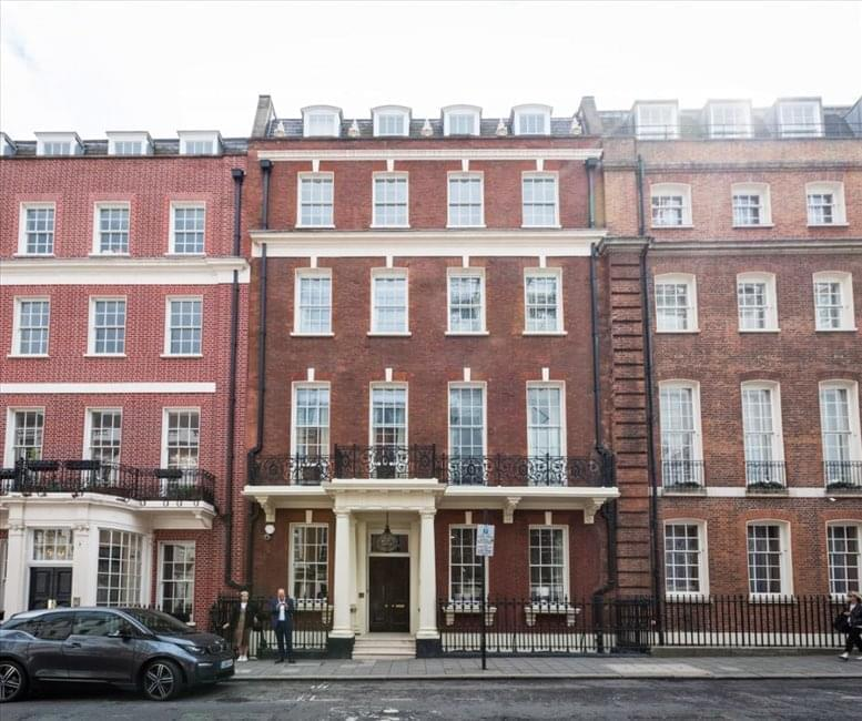 49 Grosvenor Street, Mayfair, London available for companies in Regent Street