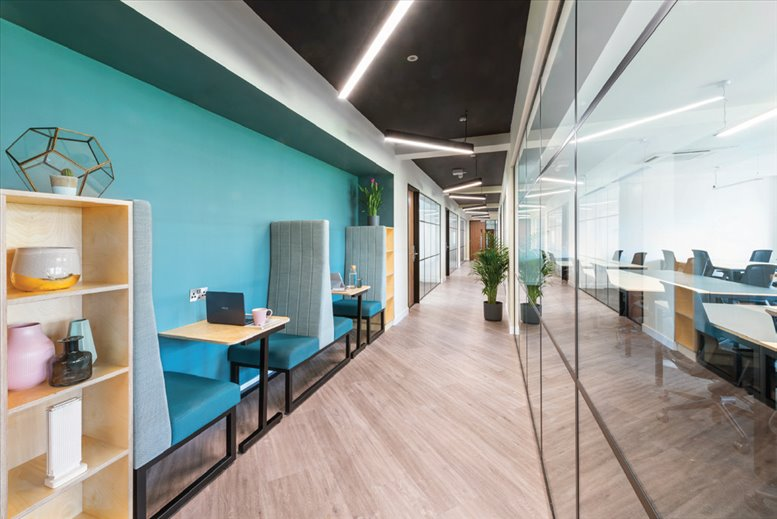 Moorgate Office Space for Rent on Longbow House, 20 Chiswell Street, London