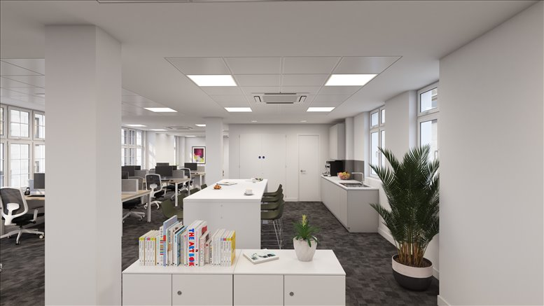Moorgate Office Space for Rent on 15 Basinghall Street, The City