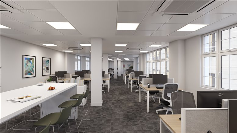 Rent Moorgate Office Space on 15 Basinghall Street, The City