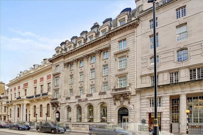 Office for Rent on 70 Pall Mall St James's Park