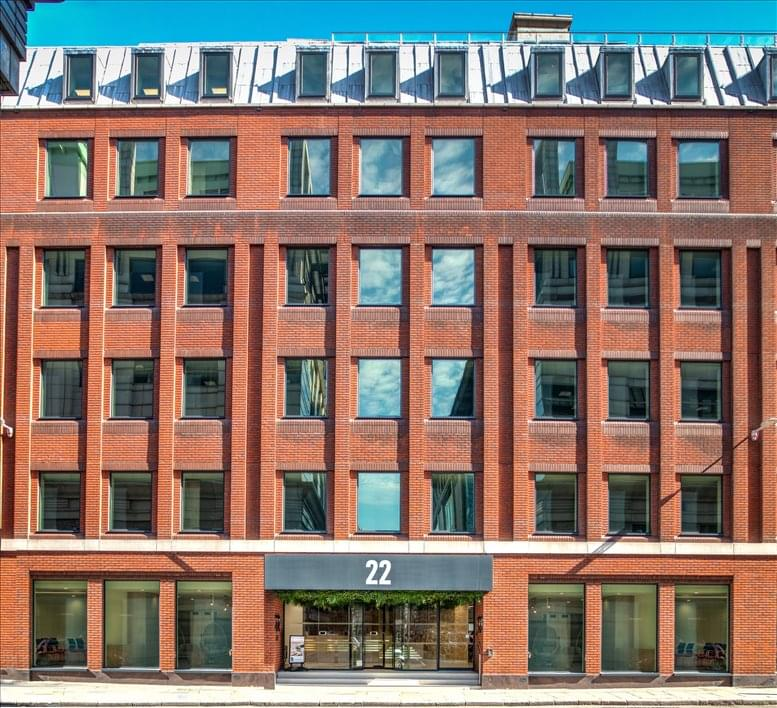 Image of Offices available in Blackfriars: 22 Tudor Street, London