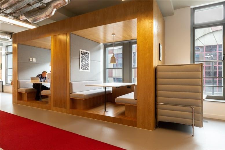 Rent Farringdon Office Space on The Bond Works, 77 Farringdon Road, London