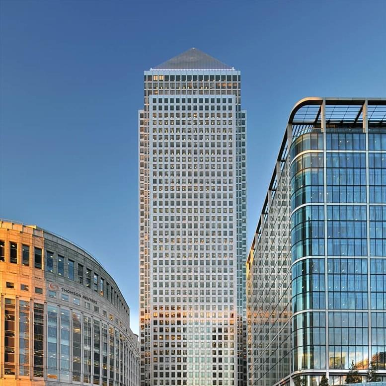 Photo of Office Space on One Canada Square, London - E14