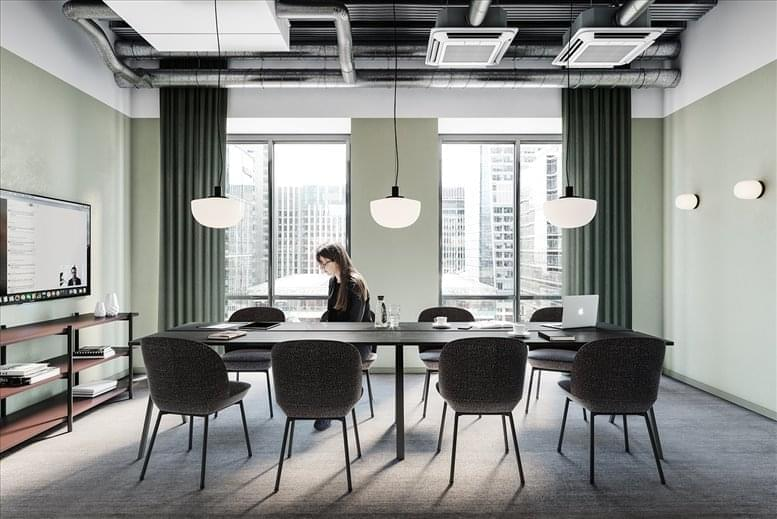 Photo of Office Space on One Canada Square, London Canary Wharf