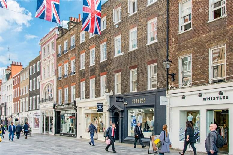 54 South Molton Street available for companies in Mayfair