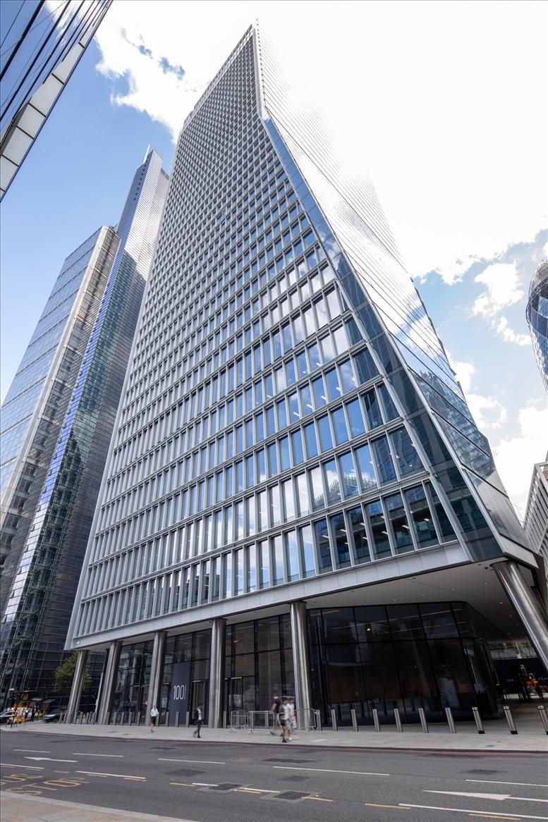 100 Bishopsgate, London Office Space Liverpool Street