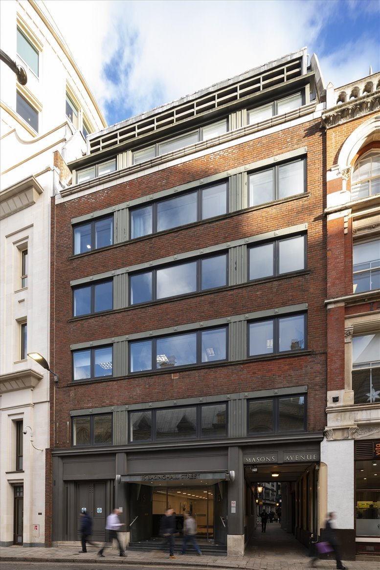 15 Basinghall Street, City of London Office Space Bank