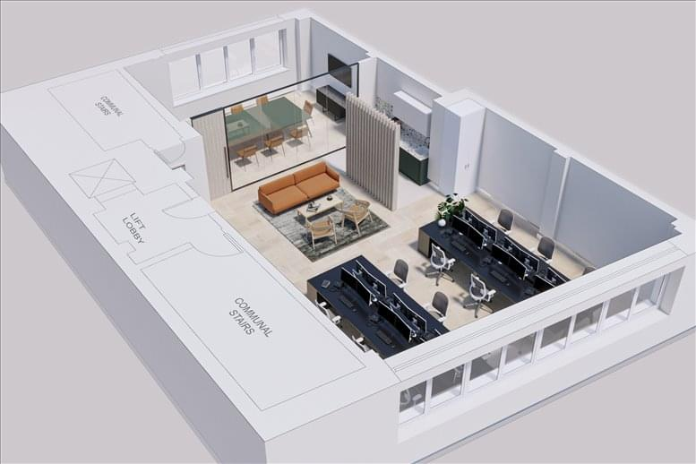 Picture of Abbey House, 74-76 St John Street Office Space for available in Farringdon