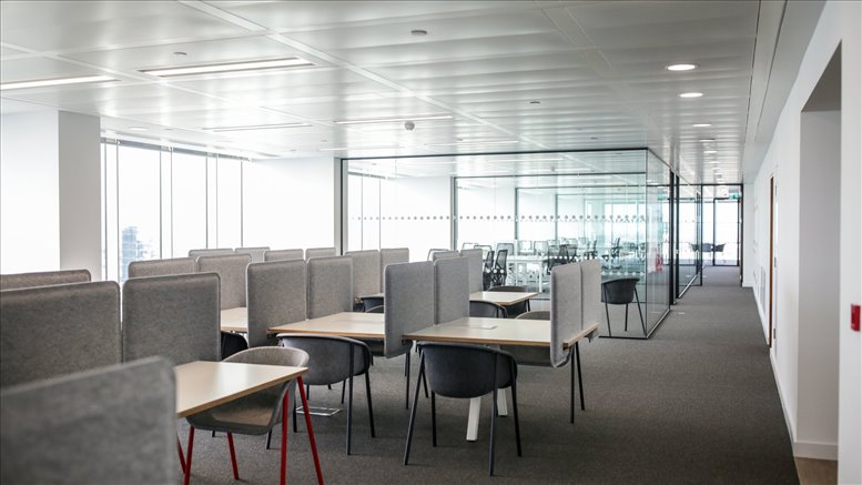 Citypoint, 1 Ropemaker Street available for companies in Moorgate